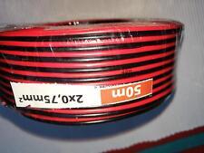 Für LGB 50 Meter Kabel 2x075 für Gartenbahn  - nagelneu