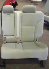 10 FORD EDGE REAR SEAT DRIVERS SIDE ONLY TAN CLOTH MAY NEED TO BE TRUCKED 191629