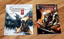 Dungeon Siege III 3 Mini Comic + Mini Quick Start Guide Heft Xbox 360 PS3