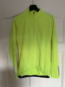 Endura Roubaix Jacket Fleecejacke Thermotrikot neon Größe M