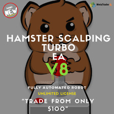 HAMSTER SCALPING TURBO V8 EA Fully Automated MT4 Trading Robot / System