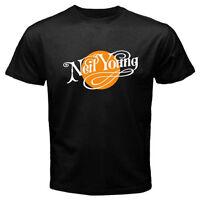 Neil Young Music Concert Tour Men's T-Shirt Black
