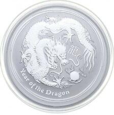 Better Date 2012 Australia $2.00 2 Oz. Silver Year Of The Dragon SILVER *398