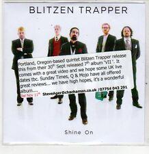 (ER327) Blitzen Trapper, Shine On - 2013 DJ CD