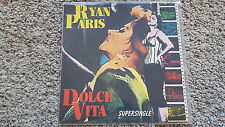 """Ryan PARIS-DOLCE VITA 12"""" vinile discoteca Spain"""