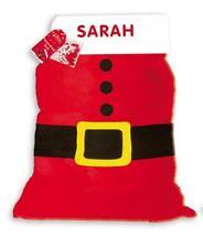 Large Personalised Santa Sack Christmas Xmas Stocking Decoration Letters Any Nam