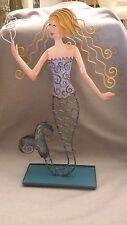 Mermaid Fantasy Seashore Ocean Metal Art Home Decor