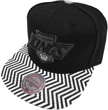 Mitchell & Ness NHL Los Angeles Kings Zig Zag EU134 Snapback Casquettes Chapeaux