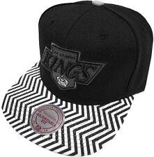 Mitchell & Ness NHL Los Angeles Kings ZIG ZAG eu134 Snapback Caps cappuccio basecaps