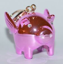 BATH & BODY WORKS PINK PIG FLYING POCKETBAC HOLDER SLEEVE HAND SANITIZER CASE