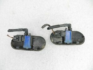 2000-2009 AUDI A3 A4 A6 RS4 S4 S6 S8 WINDSHIELD WASHER SPRAY NOZZLE JET PAIR OEM