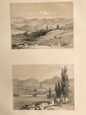 Vitoria dos vistas . George Vivian, litografia original.Londres 1838