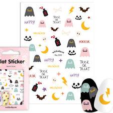 [020_Halloween]Nail Art_Nail stickers 3D_kids nail_gir nail tip[b.b.b,co]