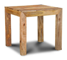 DAKOTA FURNITURE SOLID MANGO 80CM DINING TABLE (57L)