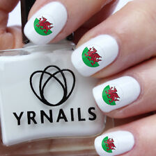 Welsh Badge Shape - Nail Decals by YRNails - WS004
