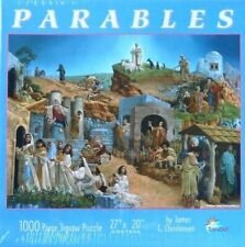 "PUZZLE - JIGSAW SUNSOUT RARE JAMES CHRISTENSEN ""PARABLES"" - 1000 PIECES - NIP"