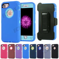 Armor Heavy Duty Hybrid Shockproof Rugged Case Cover Skin For Various Cell Phone