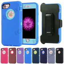 Extreme Hybrid Shockproof Armor Cases Cover, Belt Clip Fit Otterbox For iPhone