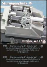 Czech Master 1/35 StuG IV interior Set para Dragon Kit # 3105