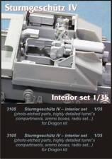 Czech Master 1/35 StuG IV Interior Set for Dragon kit # 3105