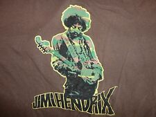 Jimi Hendrix Brown Graphic T Shirt L Free Shipping US