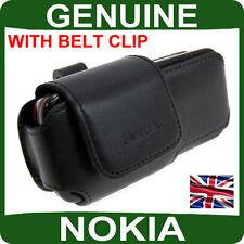 Original Nokia Funda de piel móvil 6230 6280 N73 N80 Original Bolsa del teléfono celular