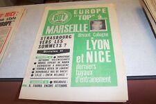 BUT LE JOURNAL DU FOOTBALL N° 403 22 octobre 1973 STRASBOURG VERS LES SOMMETS
