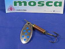 Cucchiaino Mosca N°2 grammi 3 5gr Arg/blu spinning trota persico cavedano
