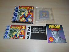 Spider-Man 3 III Complete Game Boy CIB Nintendo Invasion of the Spider-Slayers
