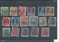 Germany stamps.  Early used lot CV £45+  (C179)