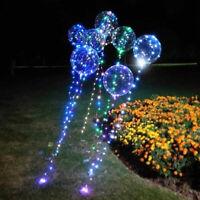 Romantic Home Decoration Xmas Birthday Balloon Light Wedding Transparent  LED