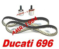 CORREAS DISTRIBUCIÓN + TENSORES de DUCATI Monster 696 de 2008 HIGH TENACIDAD
