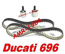 CINGHIE DISTRIBUZIONE + TENDITORI  DUCATI Monster 696 dal 2008  HIGH TENACITY