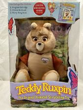 2005 Rare Teddy Ruxpin The Original Animated Storytelling Toy MISB Brand New!