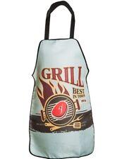 Küchenschürze Grillschürze Kochschürze Schürze Latzschürze Vintage Grill Best