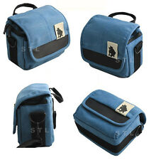 Canvas Shoulder Waist Camera Case Bag For SONY Alpha NEX-3N NEX-5T A5000 A6000