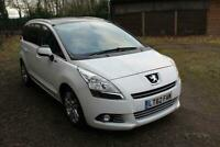 Peugeot 5008 1.6HDi Family**47,000 MILES**7 SEATER**DVD**PAN ROOF**1 OWNER**