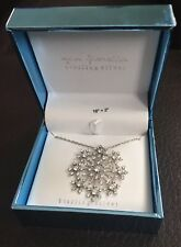 "Gia Fiorella Sterling Silver Necklace 16""+2"". BRAND NEW IN BOX."