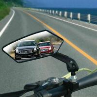 2X Neu Universal-Motorradspiegel Rückspiegel Schwarz M8/M10 Rechtsgewinde Roller