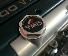 NEW JDM SILVER T-R-D Engine Oil Filler Cap Billet Aluminum