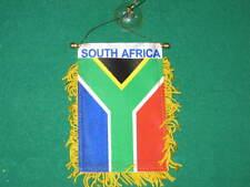 "SOUTH AFRICA FLAG MINI BANNER 4""x6"" CAR WINDOW AFRICAN"