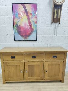 Solid Oak Sideboard in great condition, free delivery