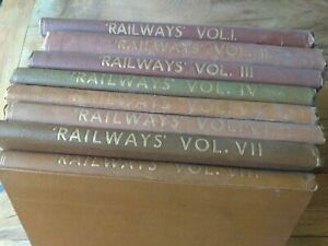 'Railways' A Magazine for all interested in Transport By Rail. 1940. Bound.