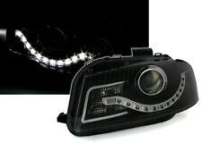 Scheinwerfer Set in Schwarz für Audi A3 8P + 8PA mit LED Tagfahrlicht Optik