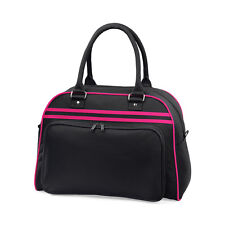 Retro Style Bowling Bag Womens Weekend Bags for Dancing Gymnastics Personalised