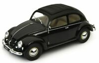 WELLY 18040K VOLKSWAGEN BEETLE diecast model road car black body 1959 1:18th