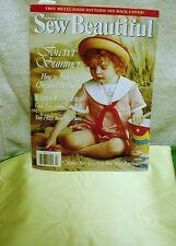 SEW BEAUTIFUL MAGAZINE M. PULLEN SUMMER 1997 FREE PATTERNS Fabric for a  dress