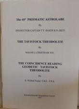 Tavistock Theodolite Articles