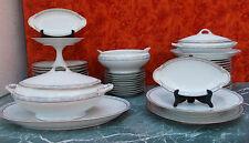 Antique Thomas Bavaria Porcelain Sèvres Service de table @+