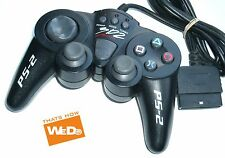 3D2 BLACK WIRED CONTROLLER PS2